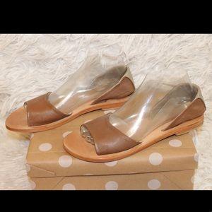 Kelsi Dagger Clarkson Flat Leather Sandals